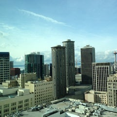 Photo taken at Grand Hyatt Seattle by Peter C. on 10/27/2012