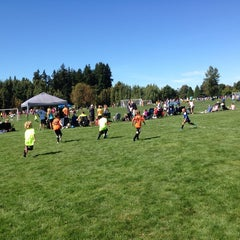 Photo taken at Marymoor Soccer Fields by Peter C. on 9/13/2014