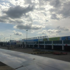 Photo taken at Francisco Bangoy International Airport (DVO) by Reden B. on 3/13/2013