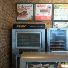 Photo taken at SUBWAY by Jack D. on 7/20/2013