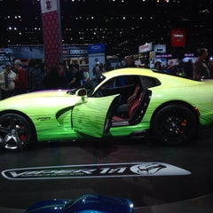 Photo taken at Chicago Auto Show by Amisha S. on 2/20/2015