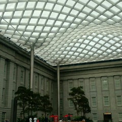 Photo taken at Kogod Courtyard by Shayna on 7/25/2015
