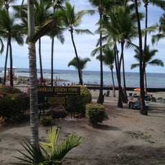 Photo taken at Outrigger Keauhou Beach Resort by Trisha on 1/31/2013