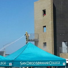 Photo taken at San Diego Miramar College by Perette G. on 9/11/2014