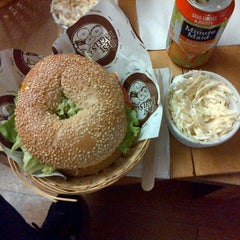 Photo taken at Best Bagels Company by Merve K. on 11/15/2014