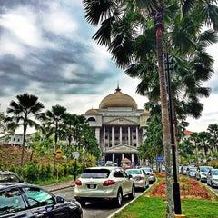 Photo taken at Kompleks Mahkamah Kuala Lumpur (Courts Complex) by Rieff R. on 6/18/2015