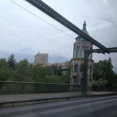 Photo taken at Montlake Bridge by Aaron H. on 5/12/2013