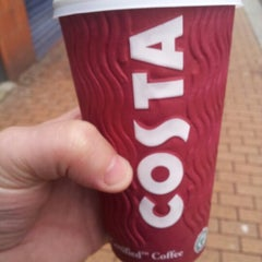 Photo taken at Costa Coffee by Ian M. on 2/13/2013