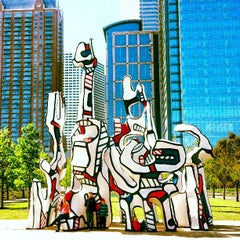 Photo taken at Discovery Green by TipsonRoadTripping on 3/26/2013