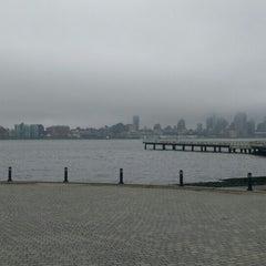 Photo taken at Hoboken, NJ by Joan Paul B. on 4/7/2016