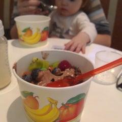 Photo taken at Frozen yogurt Berry Berry Boom by Anton K. on 4/6/2013