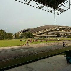 Photo taken at Stadium Mini Shah Alam by Papa Q. on 4/16/2016