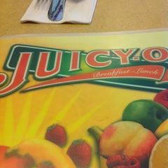 Photo taken at Juicy-O Pancake House by Carl R. on 3/6/2013