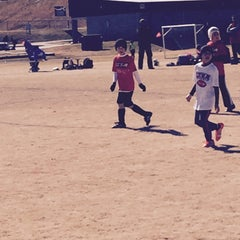 Photo taken at Mesa Soccer Complex by Dan M. on 2/21/2015