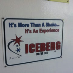 Photo taken at Iceberg Drive Inn by Brittany H. on 3/18/2013