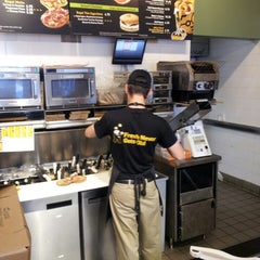 Photo taken at Einstein Bros Bagels by Brittany H. on 7/26/2013