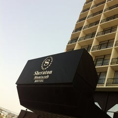 Photo taken at Sheraton Montazah Hotel by Ahmed Y. on 2/21/2013