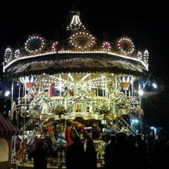 Photo taken at Leipziger Weihnachtsmarkt by Peter C. on 12/1/2012