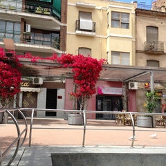 Photo taken at Plaza Nueva by Daniel S. on 5/19/2013