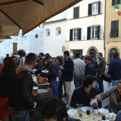 Photo taken at Piccola Osteria Lucca Drento by Nicola N. on 5/24/2013