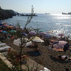 Photo taken at Kapuz Plajı by Önder K. on 7/17/2013