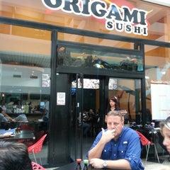 Photo taken at Origami Sushi by Karol C. on 1/29/2013