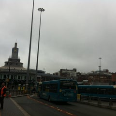 Photo taken at Queen Square Bus Station by zanna A. on 10/4/2013