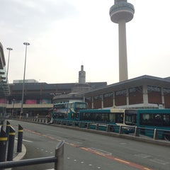 Photo taken at Queen Square Bus Station by zanna A. on 4/3/2014