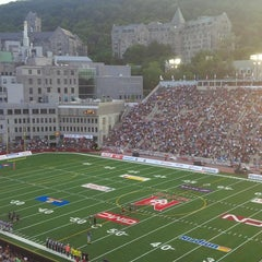 Photo taken at Stade Percival-Molson Memorial Stadium by Michael P. on 8/9/2013