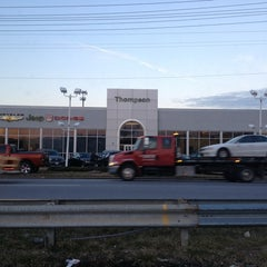 Photo taken at Thompson Chrysler Dodge Jeep Ram by Martin E. on 2/4/2013