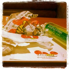 Photo taken at Subway by Kenyo D. on 3/3/2013