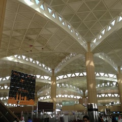Photo taken at King Khalid International Airport (RUH) مطار الملك خالد الدولي by Torky S. on 6/14/2013