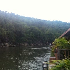 Photo taken at River Kwai Village Hotel Kanchanaburi by Narumon R. on 11/9/2012