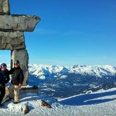 Photo taken at Whistler Mtn. Peak by Joe V. on 1/21/2013