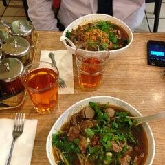 Photo taken at Bangkok Noodles by Yo mama f. on 7/9/2013