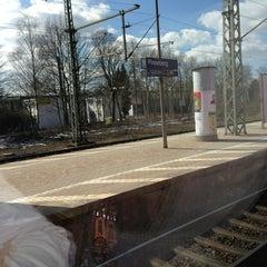 Photo taken at Bahnhof Pinneberg by David S. on 4/1/2013