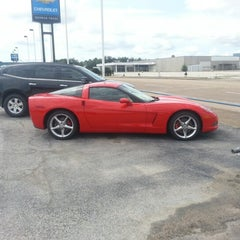 Photo taken at Norman Frede Chevrolet by Yobanis G. on 8/13/2012