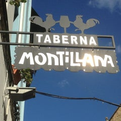 Photo taken at Taberna La Montillana by Javier J. on 2/6/2013