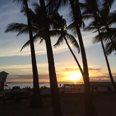 Photo taken at Kaimana Beach Park by Chris N. on 6/18/2015