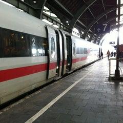 Photo taken at Hagen Hauptbahnhof by Arzu A. on 3/22/2013