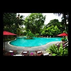 Photo taken at Swissôtel Nai Lert Park Bangkok by bella voce on 2/17/2014