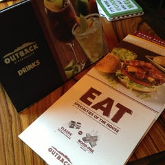 Photo taken at Outback Steakhouse by Junior K. on 6/15/2013