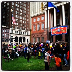 Photo taken at Connecticut's Old State House by Thom C. on 5/8/2013
