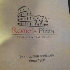 Photo taken at Rome's Pizza by Clayton P. on 11/10/2013
