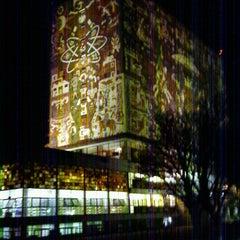Photo taken at Universidad Nacional Autonoma de Mexico by Aurora Q. on 2/9/2013