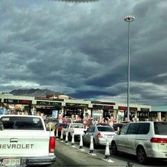 Photo taken at Puente Internacional Santa Fe (Paso Del Norte) by Adam G. on 11/18/2012