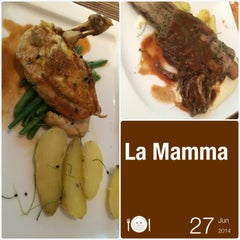 Photo taken at La Mamma by Marie J. on 6/27/2014