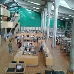 Photo taken at Bibliotheca Alexandrina | مكتبة الإسكندرية by Issam A. on 3/17/2013