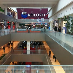 Photo taken at Ušće Shopping Center by Klemen on 2/8/2013