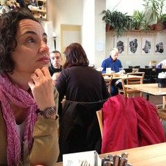Photo taken at Rote Fabrik by Ricardo G. on 3/30/2013